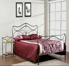 LUCY METAL BED FRAME IN COPPER 4FT6
