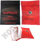 Nuprol WE Airsoft Lipo Life Safe Battery Case Li-Po Charging Pouch Flame Proof