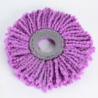 360° Rotating Head Replacement Easy Magic Microfiber Spinning Floor Mop Head