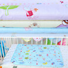 Reusable Baby Infant Waterproof Urine Mat Cover Washable Changing Pad Flowery