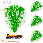 Harrows - Rapide Green Std Flights - 100 microns