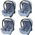Replacement spare seat cover fit Maxi Cosi CabrioFix 0+ Infant Carrier NEW DENIM