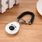 Dogs Pets Click Clicker Training Obedience Agility Trainer Aid Wrist Strap