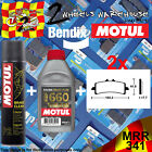 2x BENDIX 341-MRR & RBF660 & P2 BRAKE PADS FLUID CLEAN FITS MOTORCYCLES LISTED