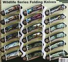 Frost Cutlery American Wildlife Series Folding Pocket Knives - Choice Assortment