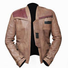 Star Wars The Force Awakens Movie Finn John Boyega Men's Antique Beige Jacket £77.99 GBP