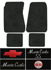 1970-1972 Chevy Monte Carlo Puzzle Mats - 4pc - Loop