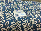 Static Caravan Curtains/pelmets/tiebacks Blue linen print- Build your own set
