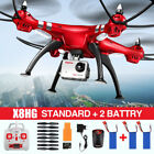 3Battery Syma X8HG 4CH RC Quadcopter Drone HD Camera Alitude Hold Set High Hover