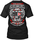 Memorial Day - Veteran Some People Dream The Live Hanes Tagless Tee T-Shirt