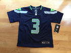 NWT Nike Seattle Seahawks NFL Blue Football Jersey Multiple Sizes Numbers
