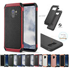 for Samsung Galaxy S9 G960 Impact Armor Hybrid TPU Skin Case Cover +Prytool