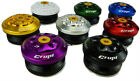 """CRUPI INTERGRATED HEADSET 1 1/8"""" red/black/blue/gold INCLUDES SPACERS"""