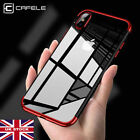 For Apple iPhone X 10 Shockproof Plating Phone Case Cover & Screen Protector