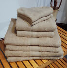 Latte Bobble Cotton Towels Neutral Face, Hand, Bath Towel & Bath Sheet Available