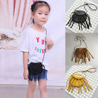 Внешний вид - Kids Girls PU Leather Shoulder Bag Messenger Bag Tassels Princess Crossbody Bags