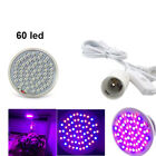 Led Seedling Plant Growing Light Bulbs indoor Vegs Flower Greenhouse Power Cable