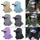 Unisex Outdoor Sport Fishing Camping Hat UV Protection Face Neck Flap Sun Cap AU