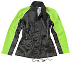 JOE ROCKET LADIES RS2 2 PIECE RAIN SUIT BLACK HI VIS FREE SHIPPING
