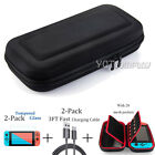Accessories Case Bag for Nintendo Switch +2 Pack Tempered Glass Screen Protector