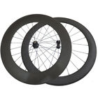 Straight pull hub 60mm+88mm clincher wheel carbon bike wheelset powerway R36 hub