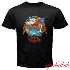 New Steve Miller Band with Peter Frampton Tour Men's Black T-Shirt Size S-3XL image