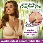 JML Miracle Bamboo Comfort Padded Bra In VARIOUS COLOURS AND SIZES