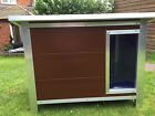 NEW Insulated Plastic Dog Kennel  *** Heavy Duty *** Long Lasting in 4 Sizes