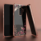 For Samsung Galaxy S9 / S9 Plus Luxury Crystal Bling Slim TPU Clear Case Cover