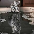 3D DIY Diamond Embroidery Painting Animals Of Cat To Tiger Home Decoration SLO