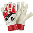 adidas Kids Predator Fingersave Goalkeeper Gloves Red/Black/White CF1362
