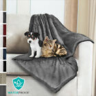 Waterproof Pet Blanket for Small Dog Cat Throw Cushion Mat Bedding 30 x 40 Inch