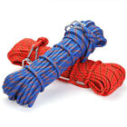 3KN 10mm Outdoor Safety Rock Tree Climbing Rappelling Rescue Rope Auxiliary Cord