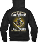 Freemason Darkest Hours - If You Got My Back In The G I Gildan Hoodie Sweatshirt