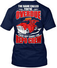 Tow Truck Repo Crew - The Bank Called You're Overdue Hanes Tagless Tee T-Shirt