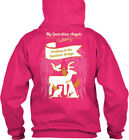 Rainbow Bridge My Guardian Angels Pets - Waiting At The Gildan Hoodie Sweatshirt