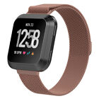 Many Color Metal Milanese Loop Chain Bracelet Band For Fitbit Versa Large/Small