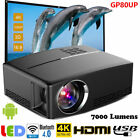 7000 Lumens WiFi Bluetooth 4K UHD LED Projector Android6.0 Home Theater HDMI USB