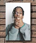 KX519 ASAP ROCKY Hot Rap Hip Hop Music Singer Smoking Print 24x36 in Silk Poster