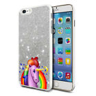 Unicorn Glitter Design Phone Hard Case Cover Skin For Various Mobiles 04