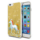 Unicorn Glitter Design Phone Hard Case Cover Skin For Various Mobiles 08