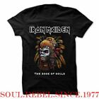 IRON MAIDEN BOOK OF SOULS PUNK ROCK ALTERNATIVE   MEN'S SIZES T SHIRT image