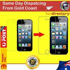 Full Coverage Tempered Glass screen Protector Apple iPhone 4 5 6 7 8 9 X Plus
