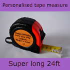 FATHERS DAY Present For Him Personalised Engraved Tape Measure Dad Grandad Gift
