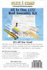 Flex Coat All in One Rod Build Assembly and Finish Kit- Pick Formula - Free Ship