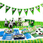 Football Soccer Kids Birthday Party Tableware & Decorations