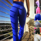 Sexy Women's YOGA Gym Sports Stretch Pants Hip Push Up Leggings Fitness Trousers