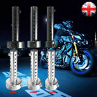 Universal Motorcycle Exhaust Can Muffler Baffle DB Killer Silencer 35/48/60mm UK