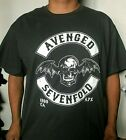 NEW!! AVENGED SEVEN FOLD CHARCOAL PUNK ROCK T SHIRT CHARCOAL MEN'S SIZES image