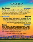 Coachella 2018 Sunday Only Wristband for Weekend 2
